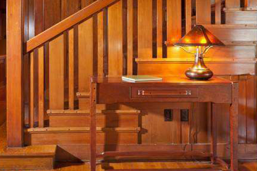 Greene U0026 Greene Designed Entry Hall Furniture For Tom Reitze, Owner Of The  Bolton House, Pasadena CA U2013
